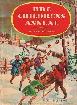 BBC Children's Annual 1956 © Burke by arrangement with the BBC 1955