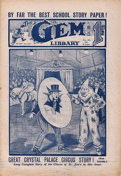 """Fun at the Crystal Palace"" by Martin Clifford, Gem 679 © Amalgamated Press 1921. Click to download."