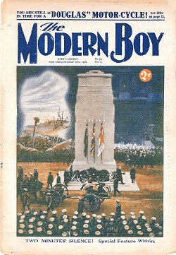 The Modern Boy 40 © Amalgamated Press 1928. Click to download